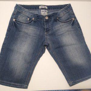 True Bliss denim shorts long